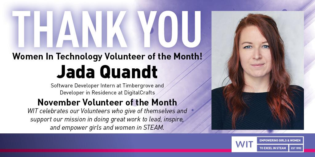 Volunteer Spotlight Jada Quandt 1024x512